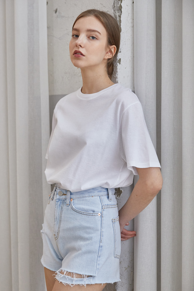 Basic Half T-shirts SET