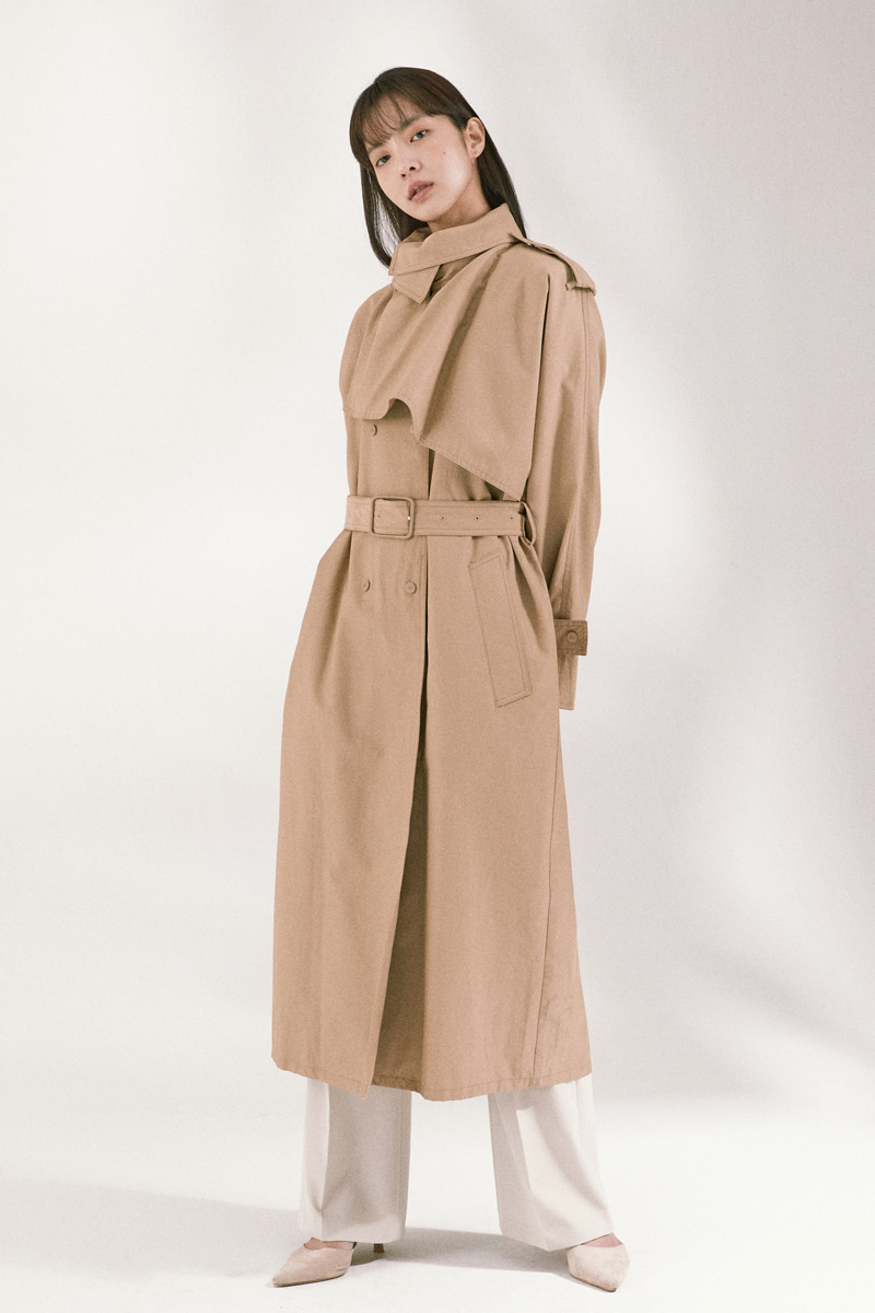 Woody Trench Coat
